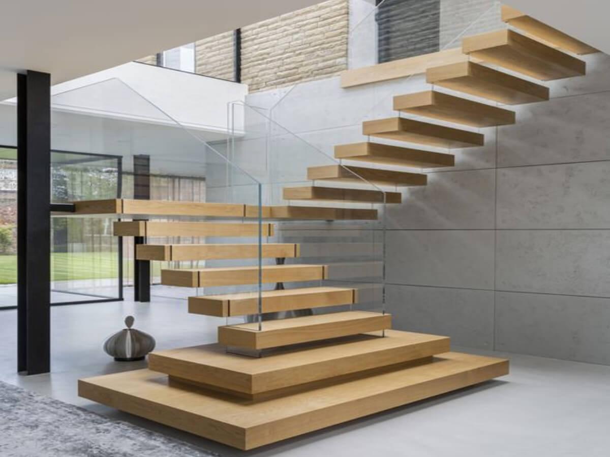 Сучасні сходи на другий поверх. Дизайн сходів в 2021 році