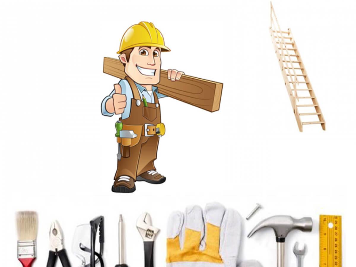 Как сделать лестницу своими руками?