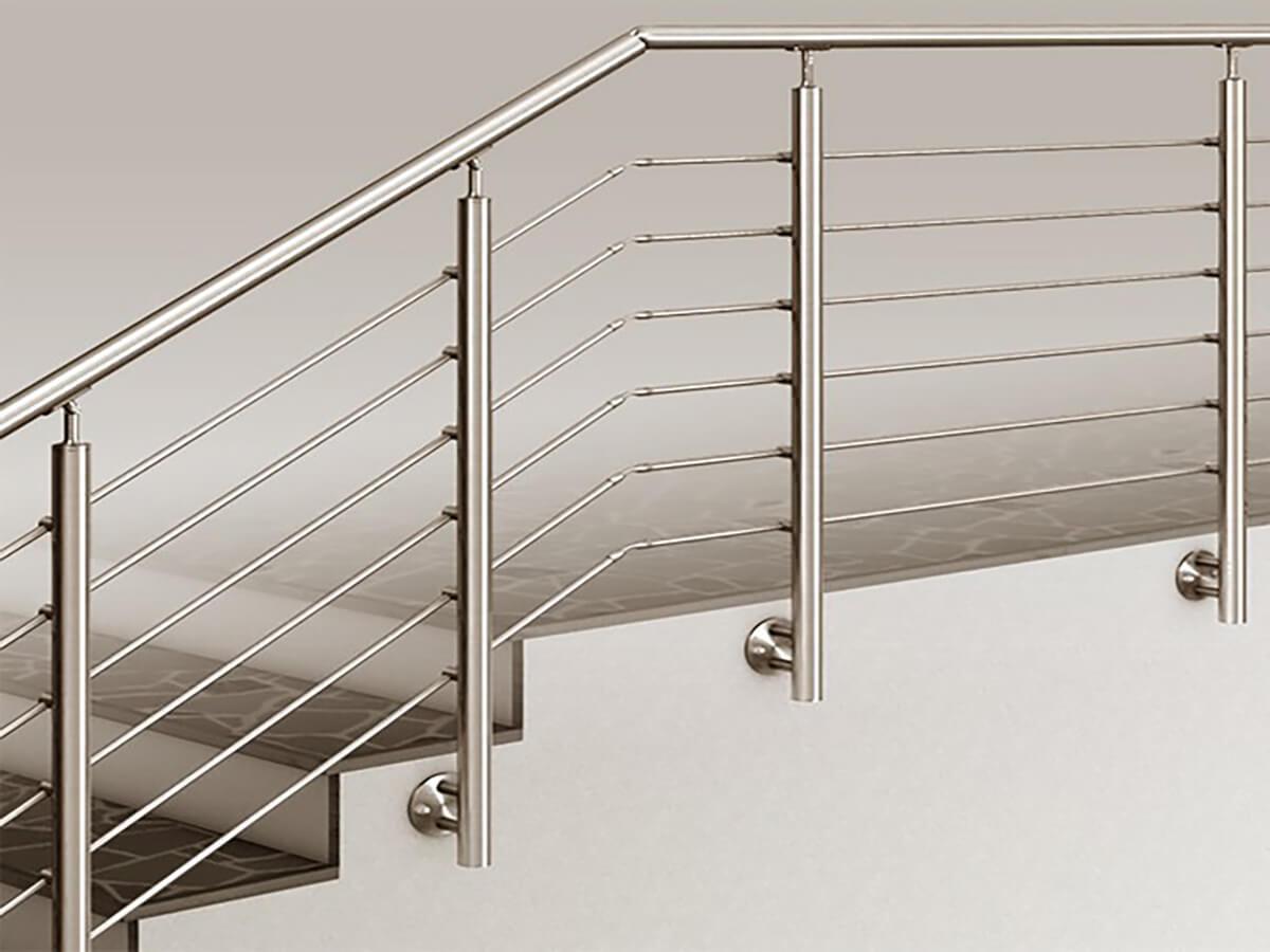 Огородження для сходів: декор та безпека