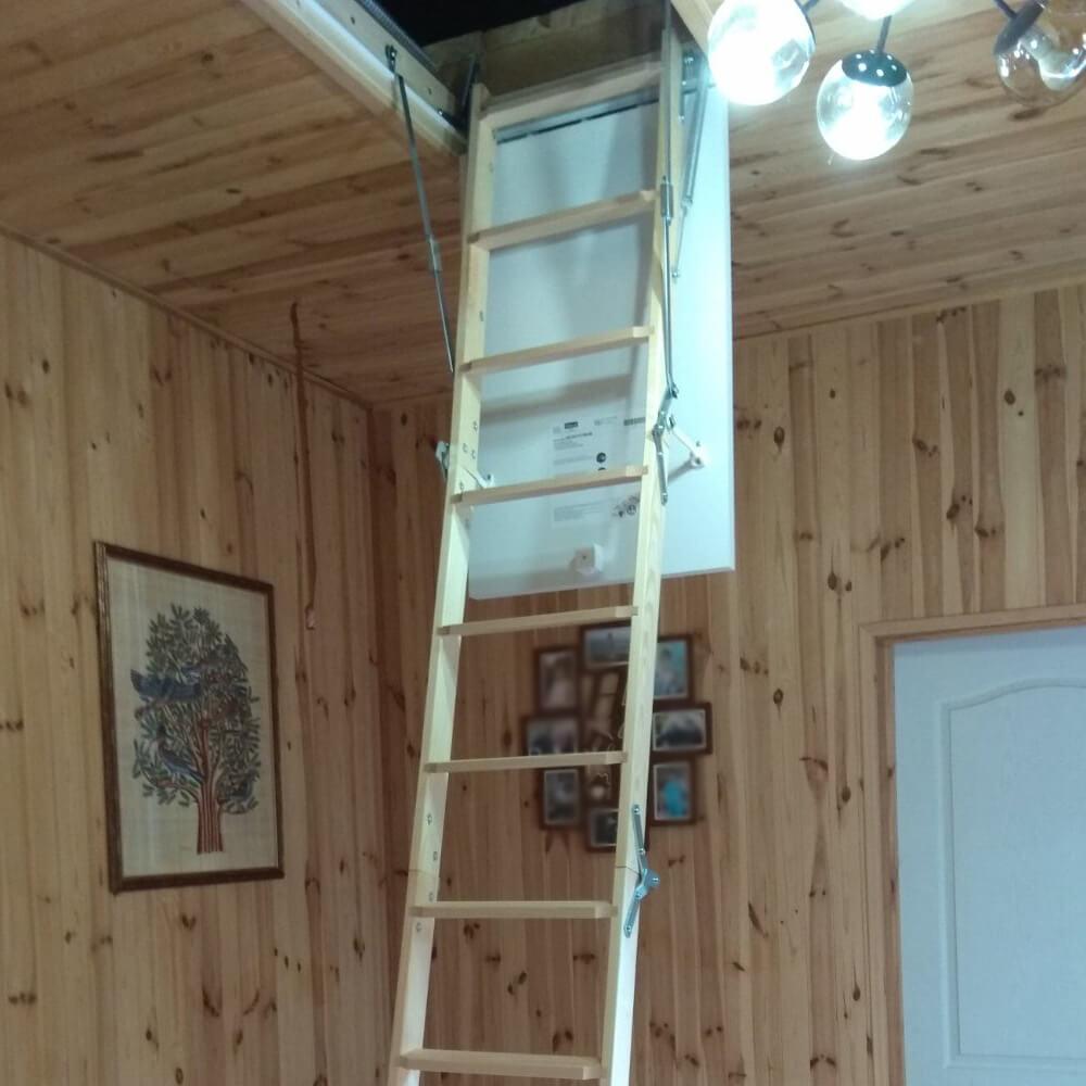 Фото Чердачные лестницы небольших размеров  DOLLE CF36 mini
