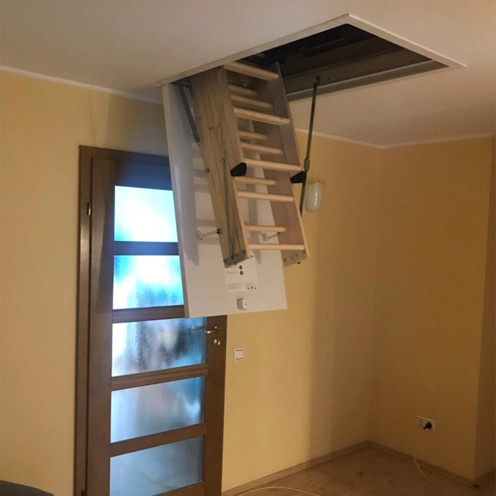 Фото Выбор чердачной лестницы DOLLE CF36