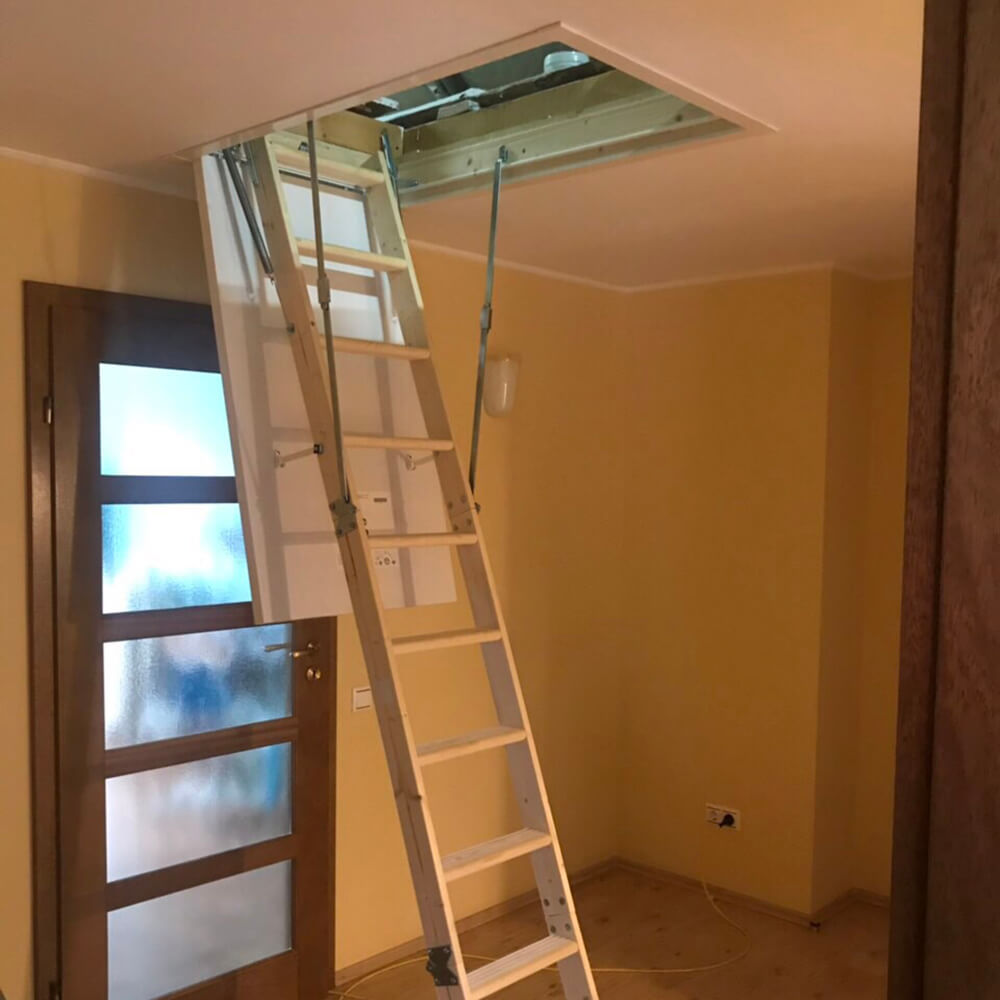 Фото Выбор чердачной лестницы ТМ DOLLE