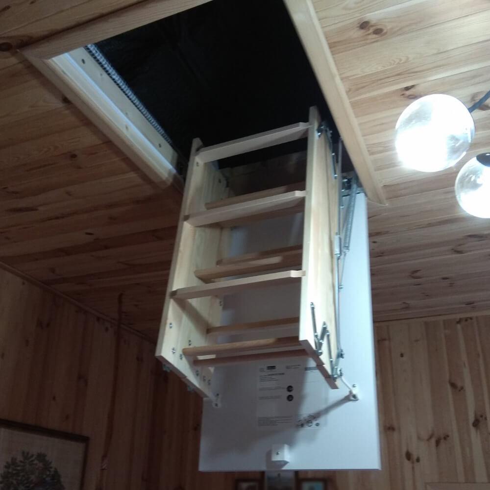 Фото Чердачные лестницы модель  DOLLE CF36 mini