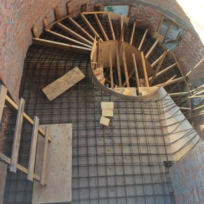 Виготовлення конструкції бетонних сходів