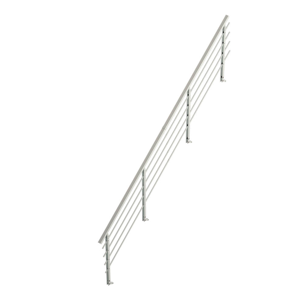 Фото Алюминиевая лестница лофт, балюстрада DOLLE