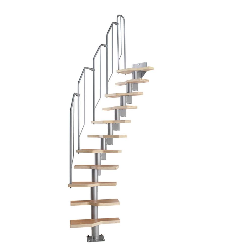 Фото Готові модульні сходи для квартири DOLLE Athena