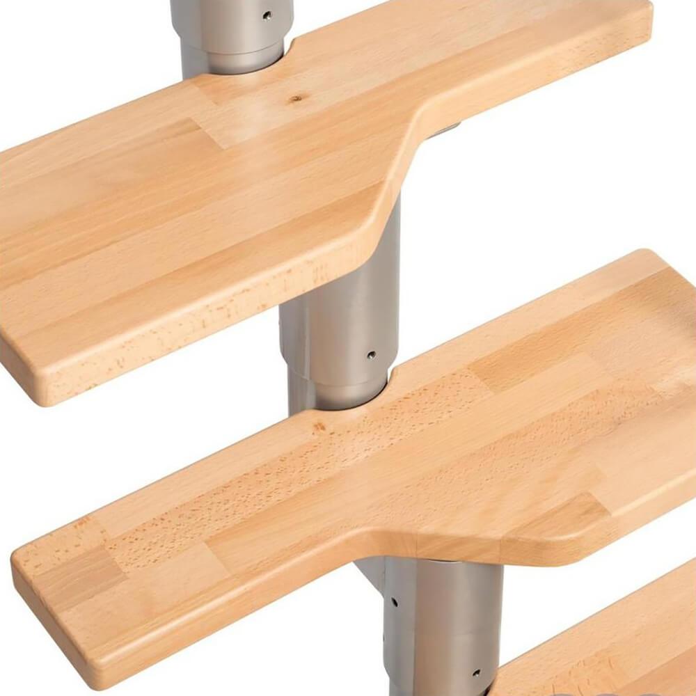 """Фото Модульні сходи зі ступенями """"гусячий крок"""""""