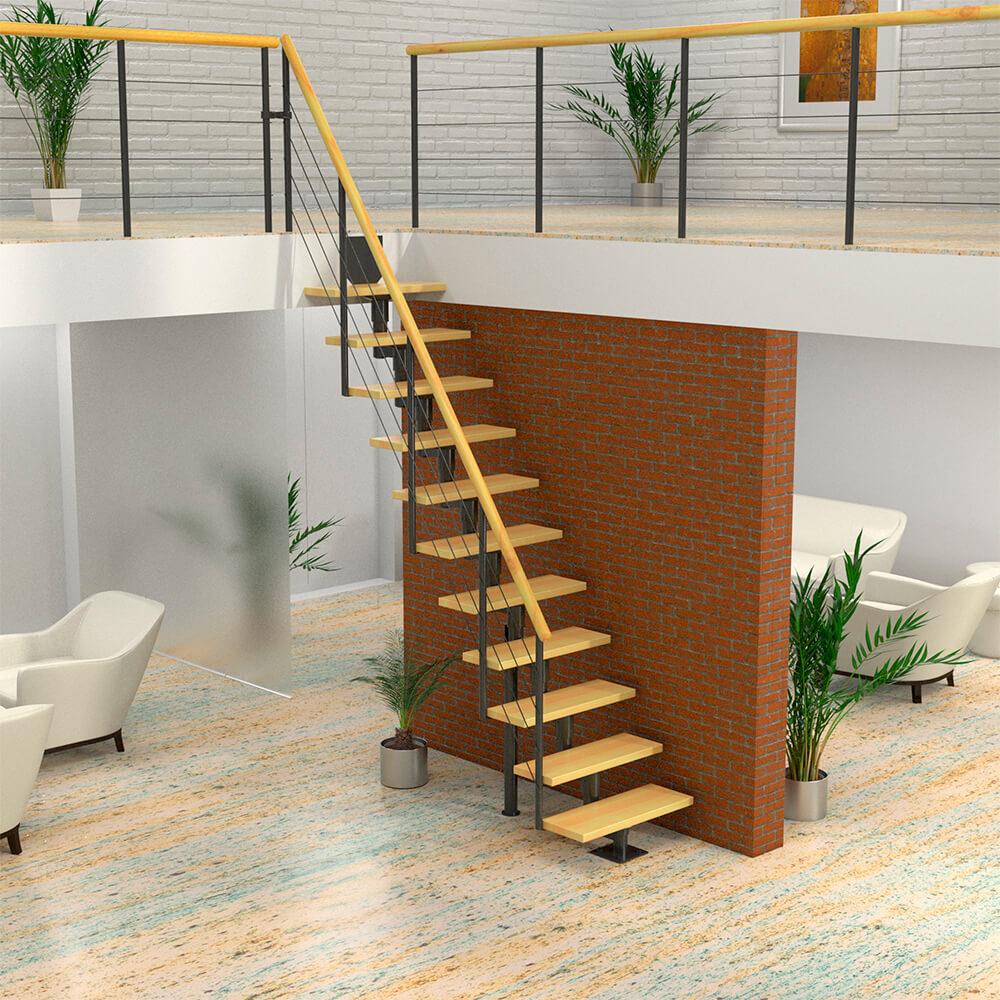 Модульная лестница DOLLE Boston Антрацит