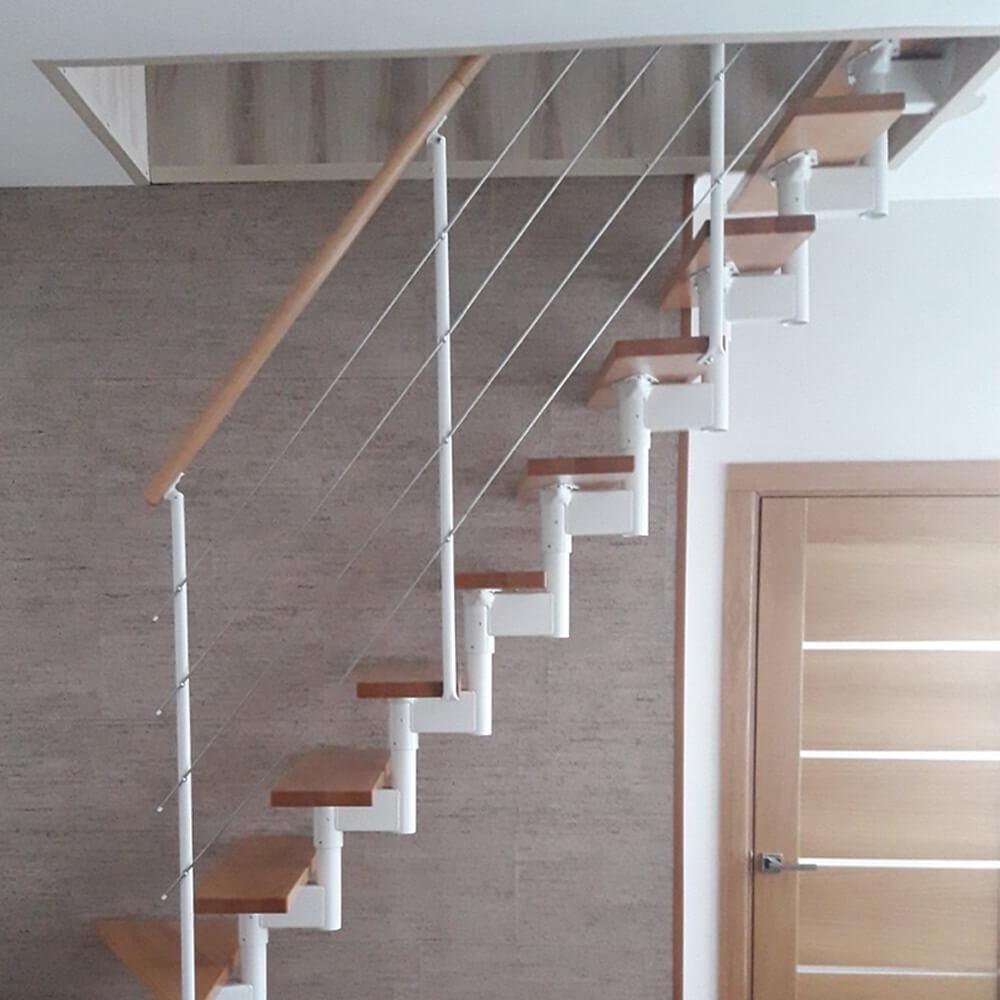 Модульная лестница DOLLE Boston Белая