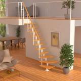 Модульная лестница DOLLE Boston Белая забежная