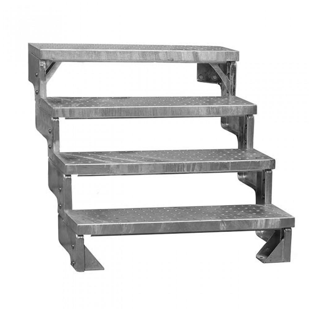 Фото Модульні металеві сходи DOLLE GARDENTOP