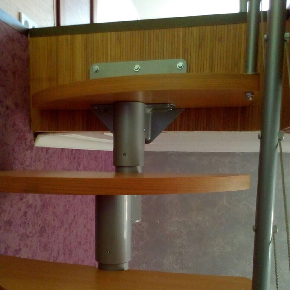 Фото Модульные лестницы DOLLE Rome утиный шаг