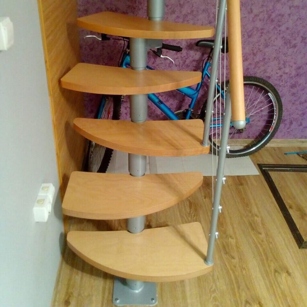 Фото Лестница модульная утиный шаг DOLLE Rome