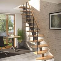 Модульная лестница DOLLE Rome Серебро