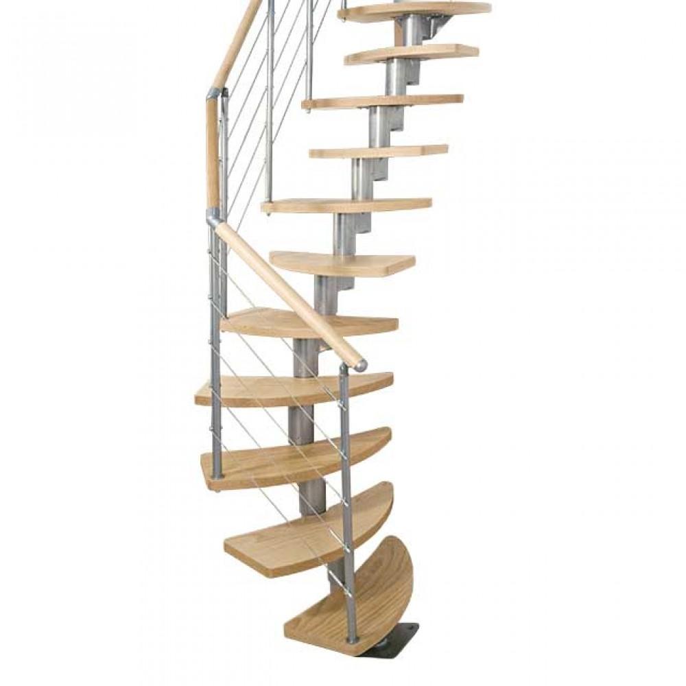 """Фото Модульная лестница с формой ступеней """"утиный шаг"""""""