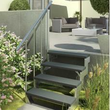 Модульная лестница DOLLE GARDENTOP Сталь/Trimax Серый