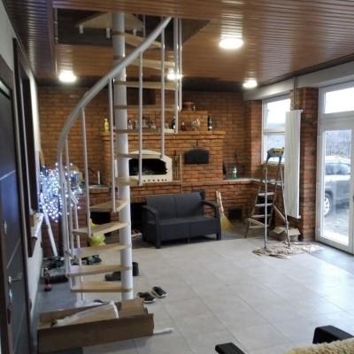 Фото - сходи DOLLE Calgary в інтер'єрі