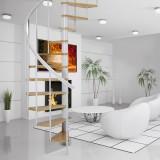 Винтовая лестница DOLLE Calgary Белая