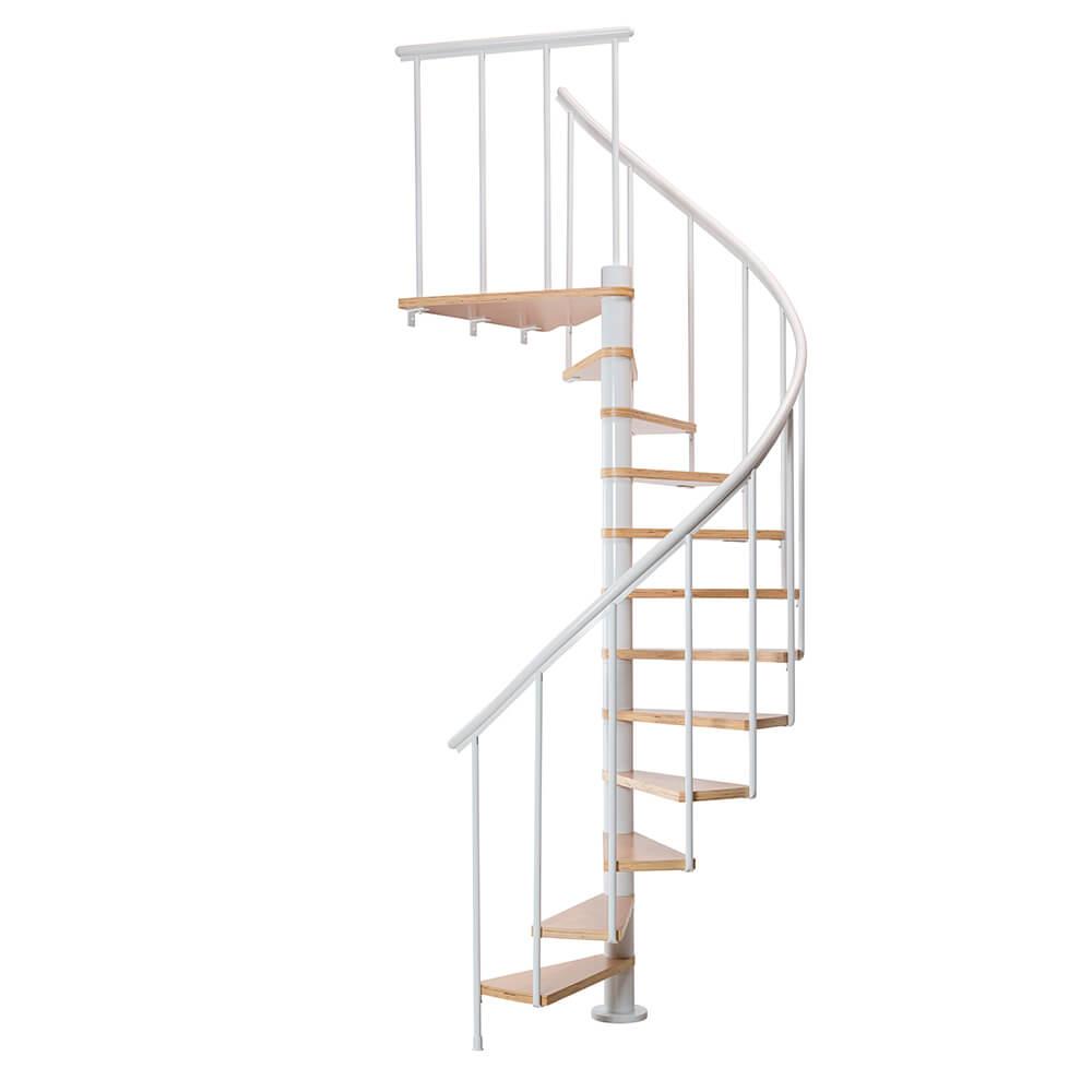 Винтовая лестница модель DOLLE Calgary Белая