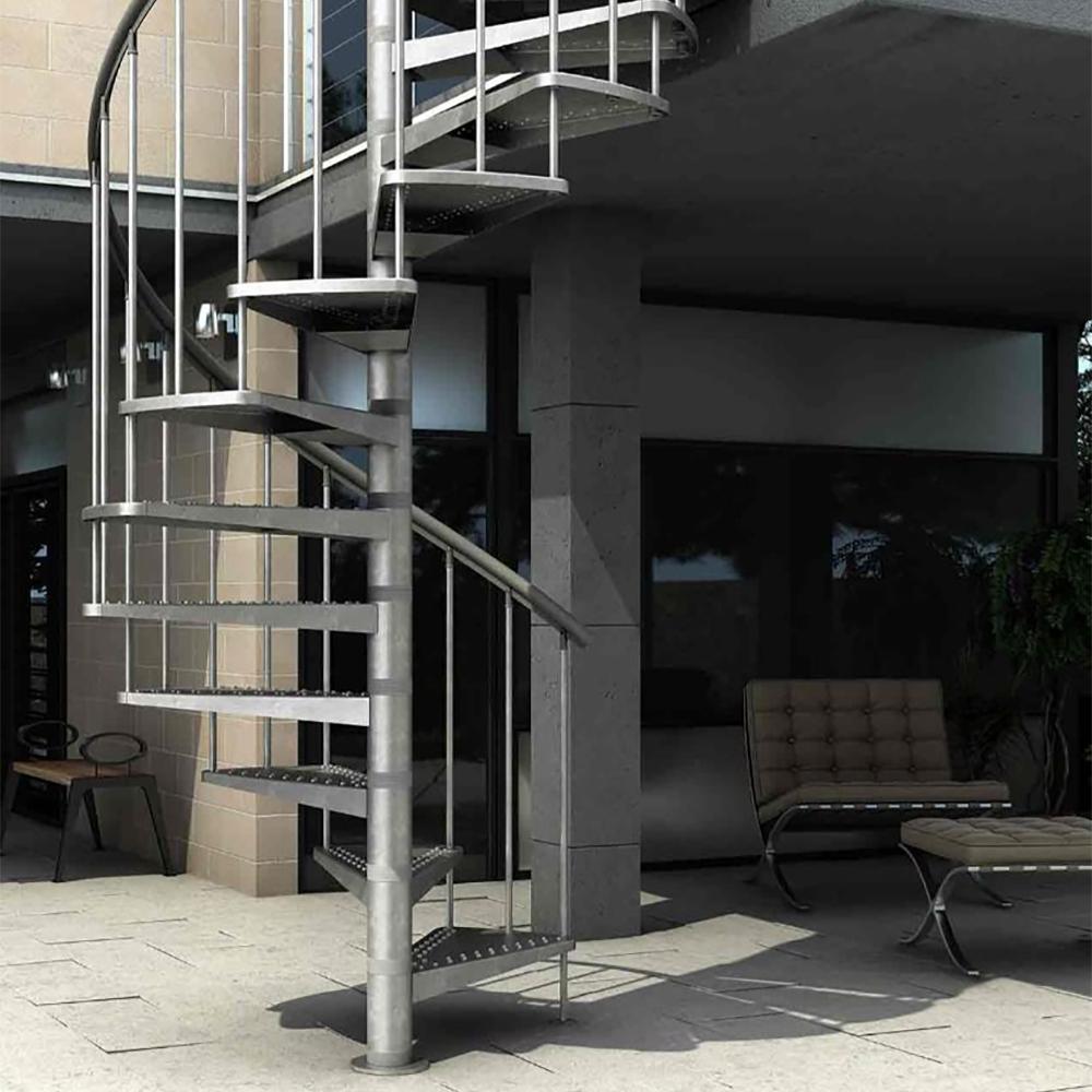 Винтовая лестница DOLLE Gardenspin Сталь