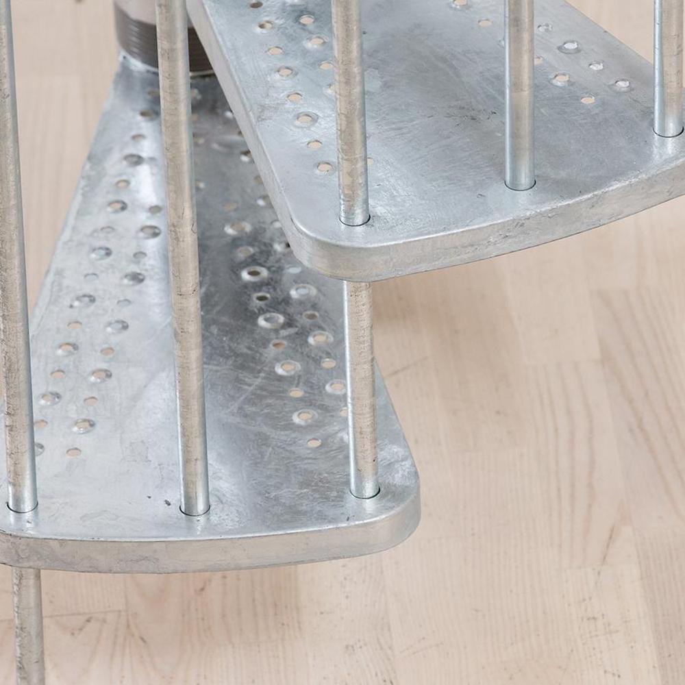 Модель DOLLE Gardenspin Сталь винтовая лестница