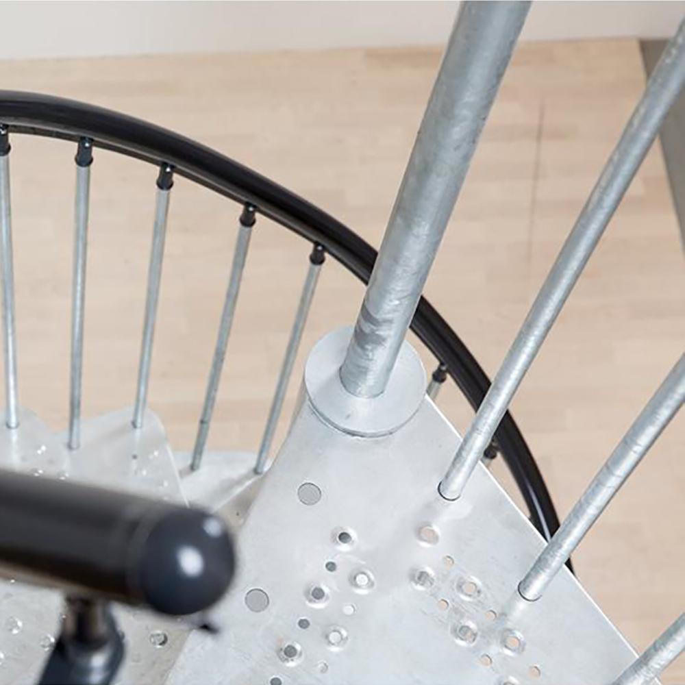 Винтовая лестница модель DOLLE Gardenspin Сталь