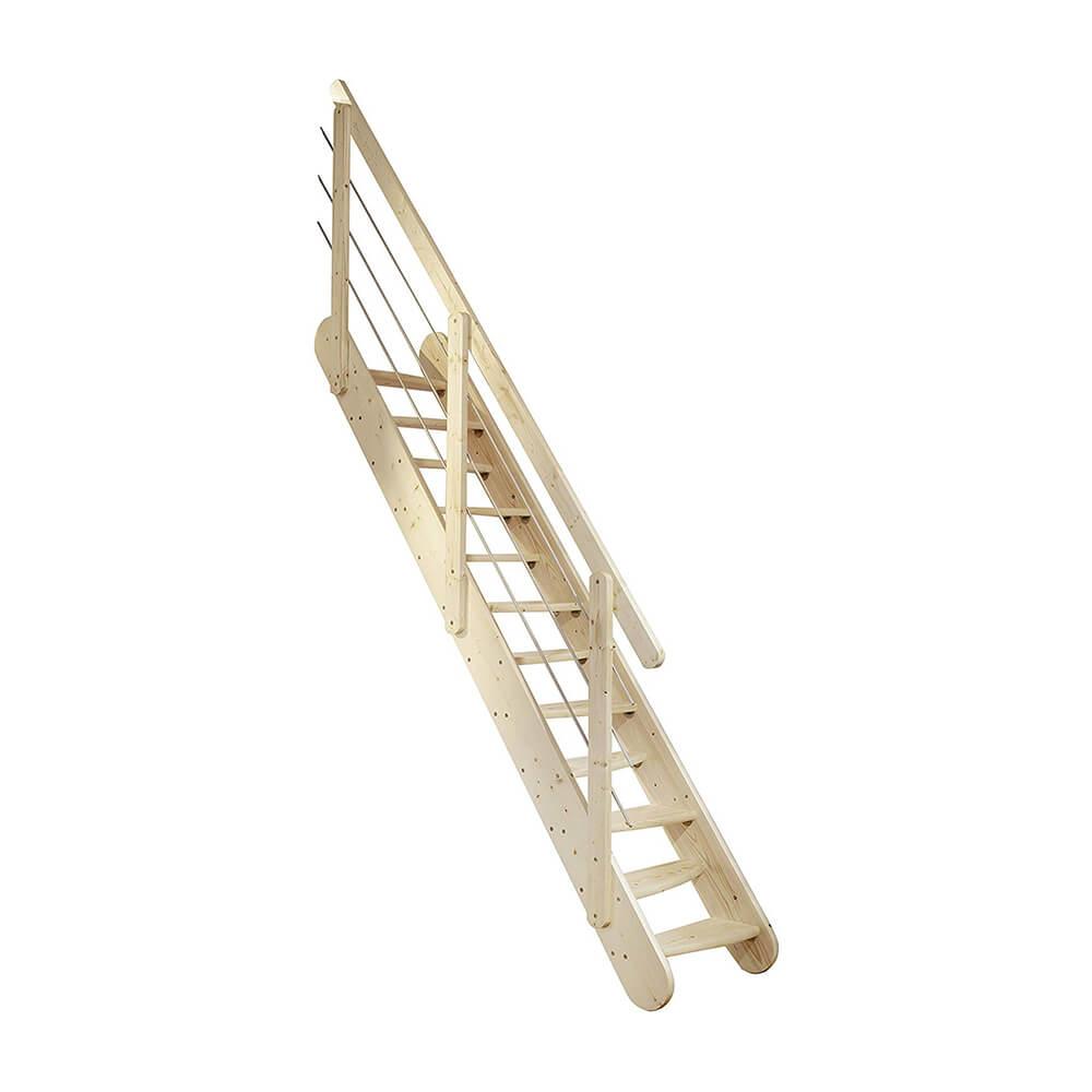 Деревянные лестницы модели DOLLE Bern
