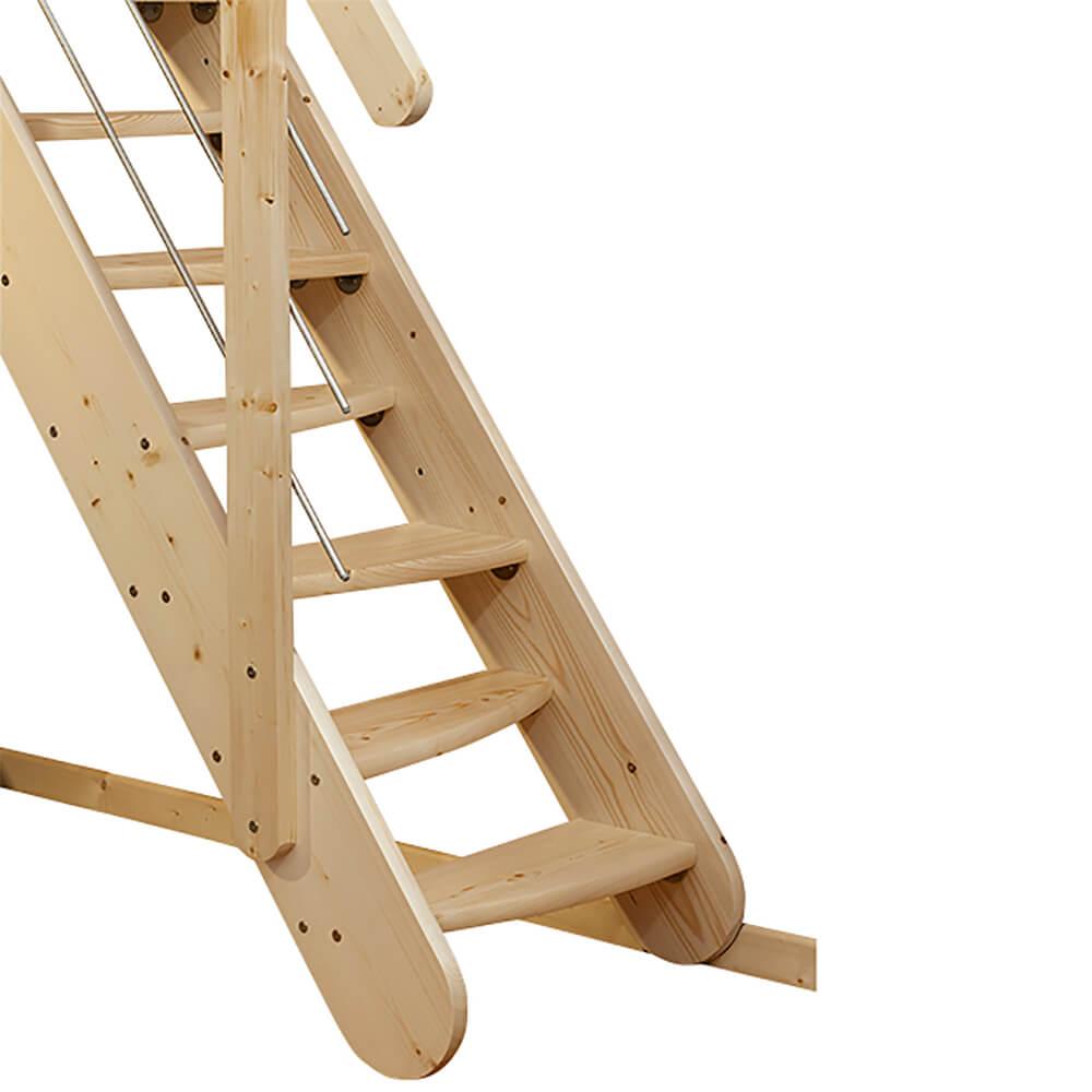 Лестницы DOLLE с прямым маршем