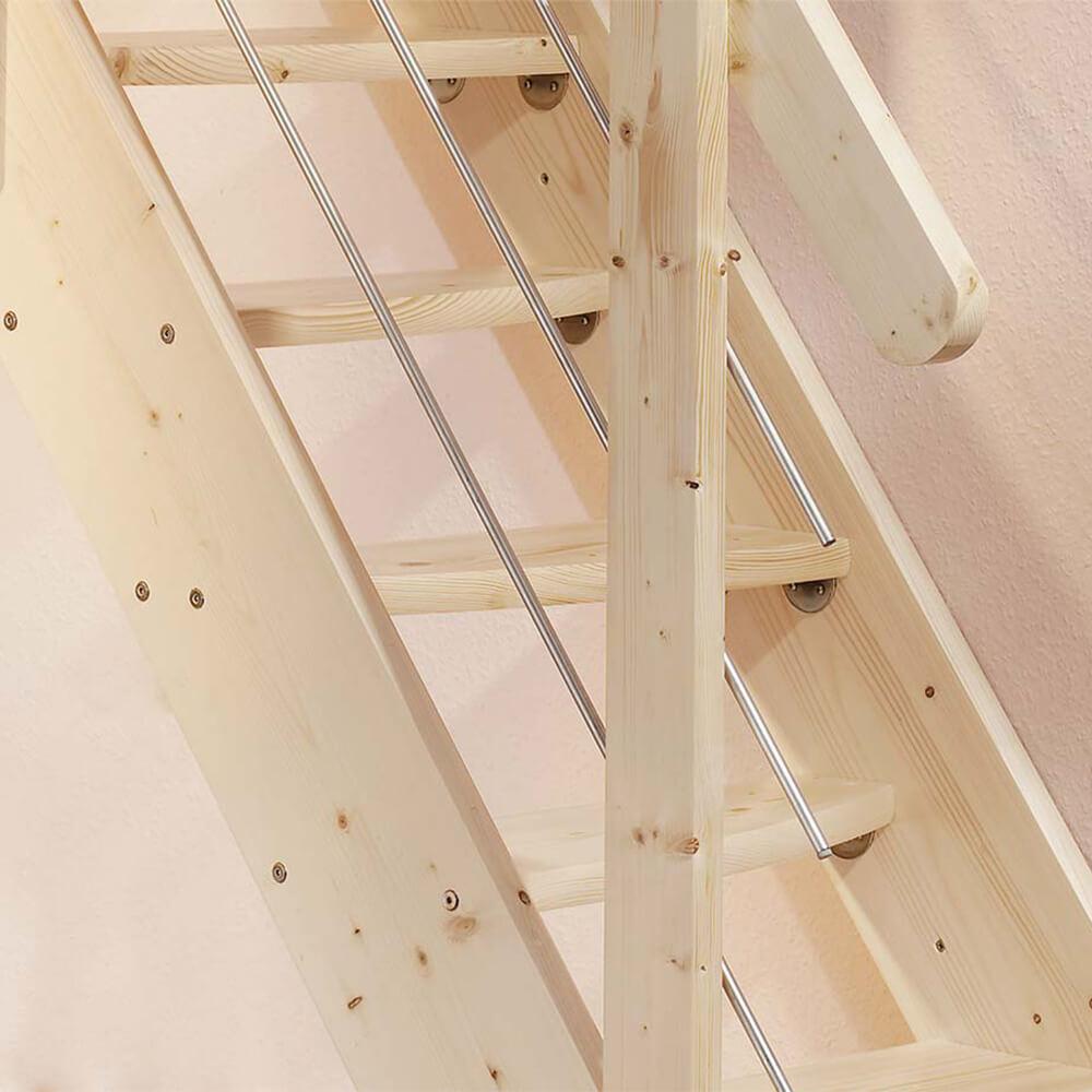 Креативные лестницы из дерева DOLLE Bern