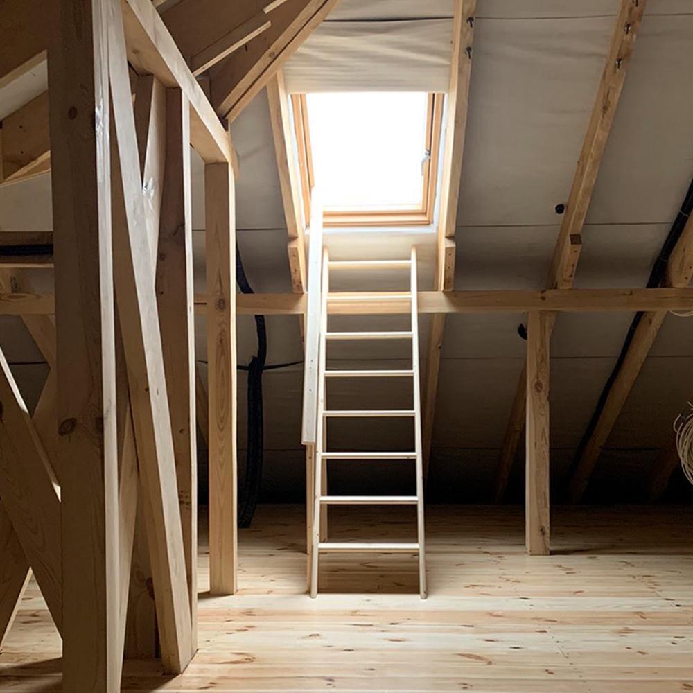 Фото Лестницы из дерева модель DOLLE Madrid