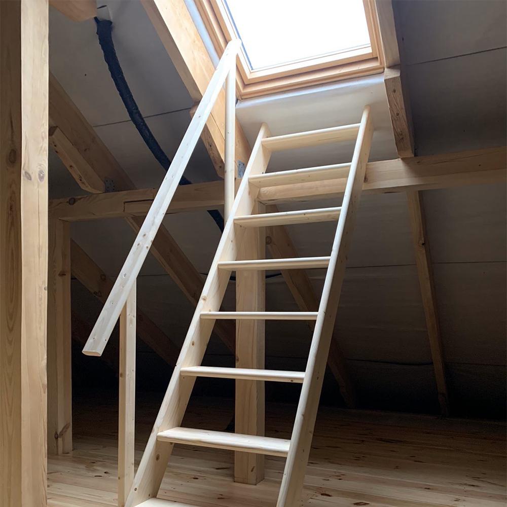 Фото Готовые лестницы модель DOLLE Madrid