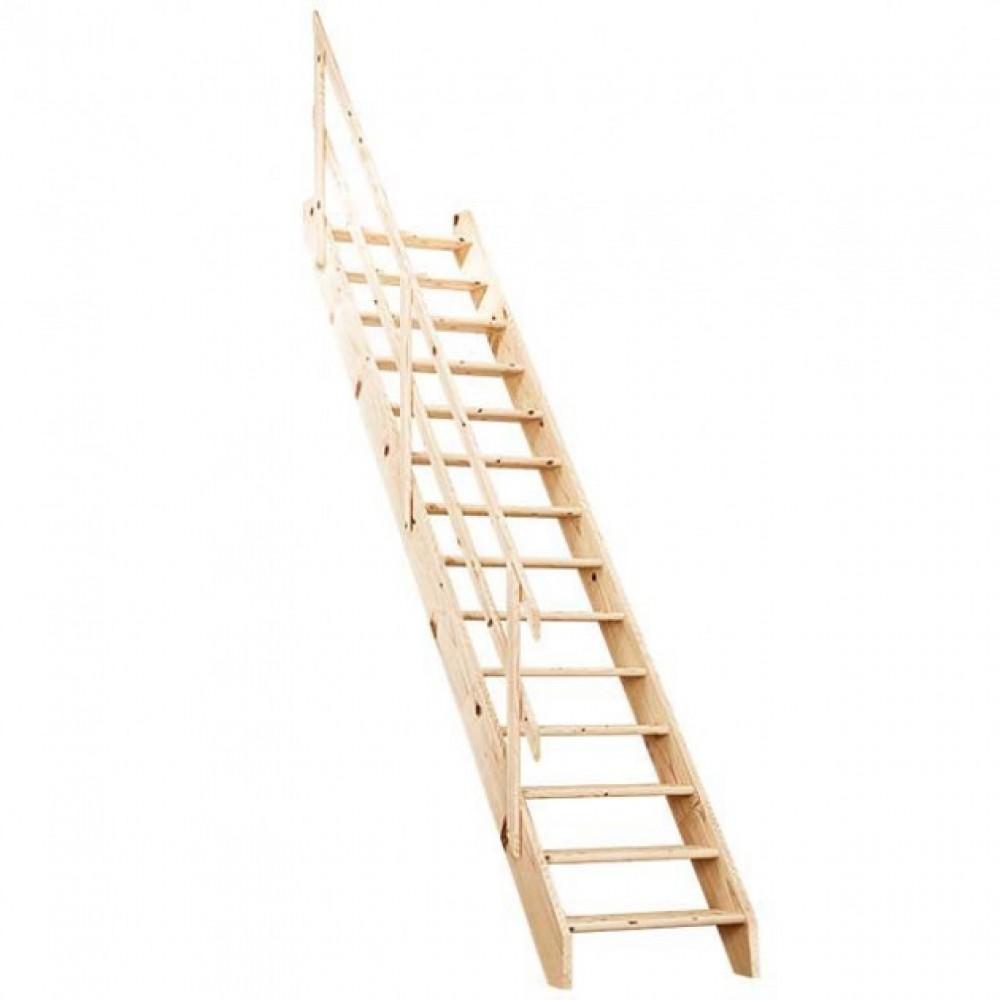Фото Маршевая лестница для дачи Normandie