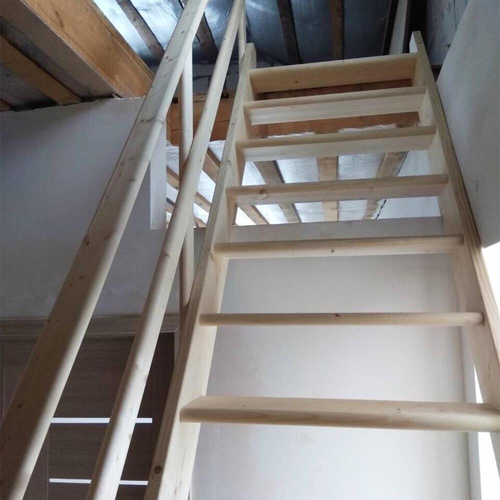 Деревянная лестница DOLLE Normandie