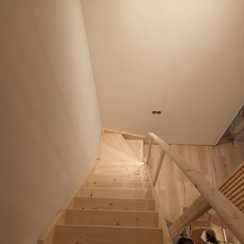 Фото Компактные лестницы с поворотом от DOLLE