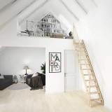 Деревянная лестница DOLLE Madrid