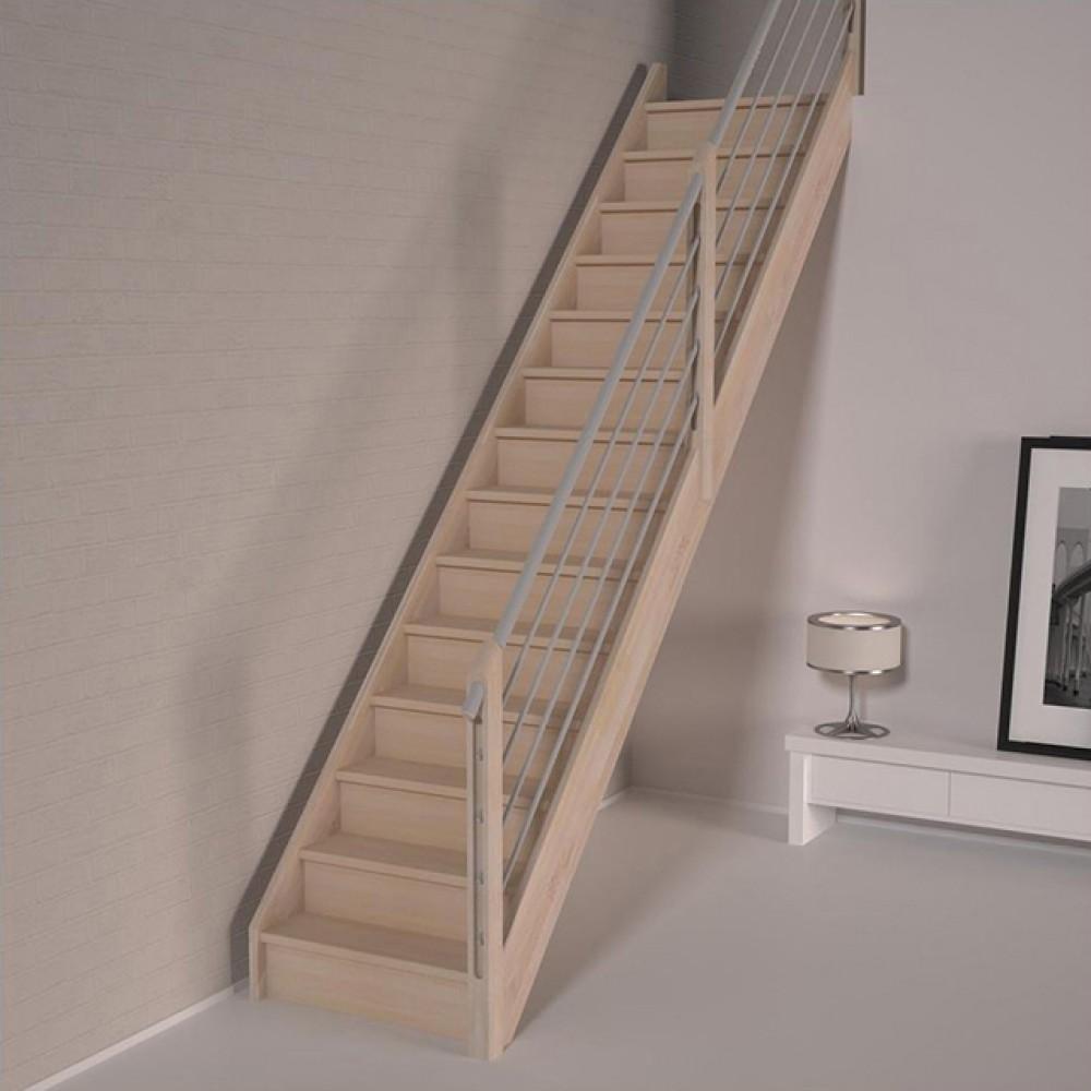 Деревянная лестница DOLLE Savoie M с подступенями
