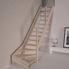 Деревянная лестница DOLLE Savoie M забежная