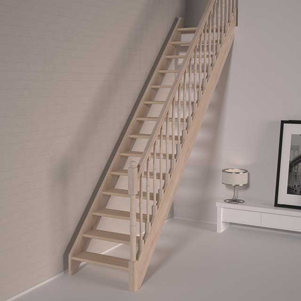 Деревянная лестница DOLLE Savoie T