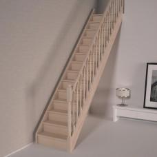 Деревянная лестница DOLLE Savoie T с подступенями