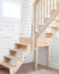 фото Лестница своими руками на второй этаж