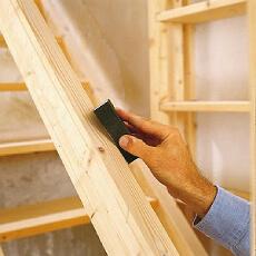 фото Изготовление деталей лестницы