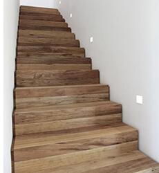 фото Лестница из дуба