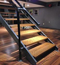 Фото Сходи лофт на другий поверх