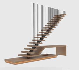 Фото Лестница на заказ от DOLLE