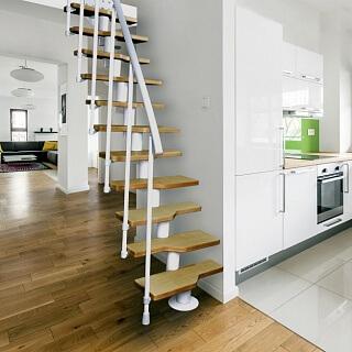 Модульная лестница на мансару