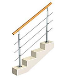 фото Ограждение для лестницы