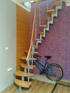 Бюджетная модульная лестница