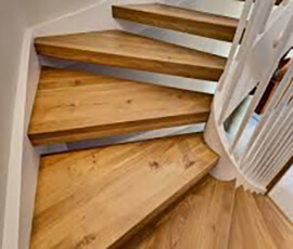 фото Лестница из бука