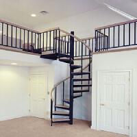 фото Гвинтові сходи для квартири